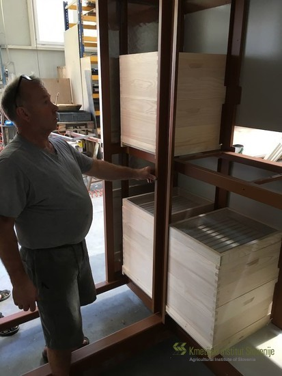 Mobile Apiary being manufactured in Kipgo d.o.o., Slovenia